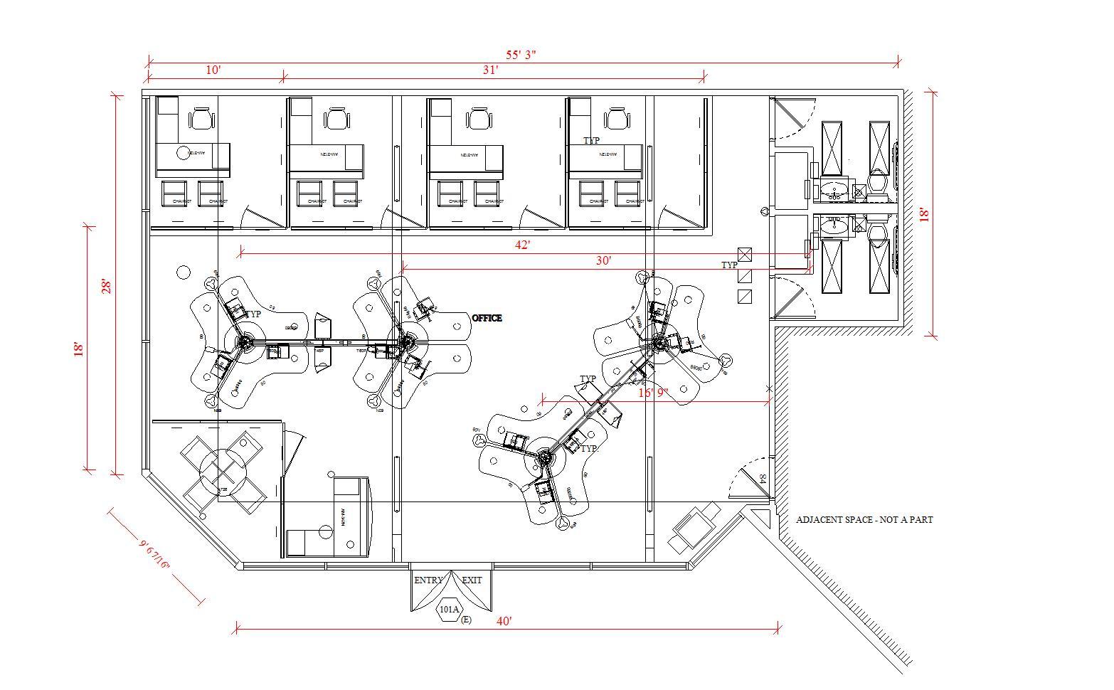 office space planning boomerang plan.  planning furnishing plan on office space planning boomerang