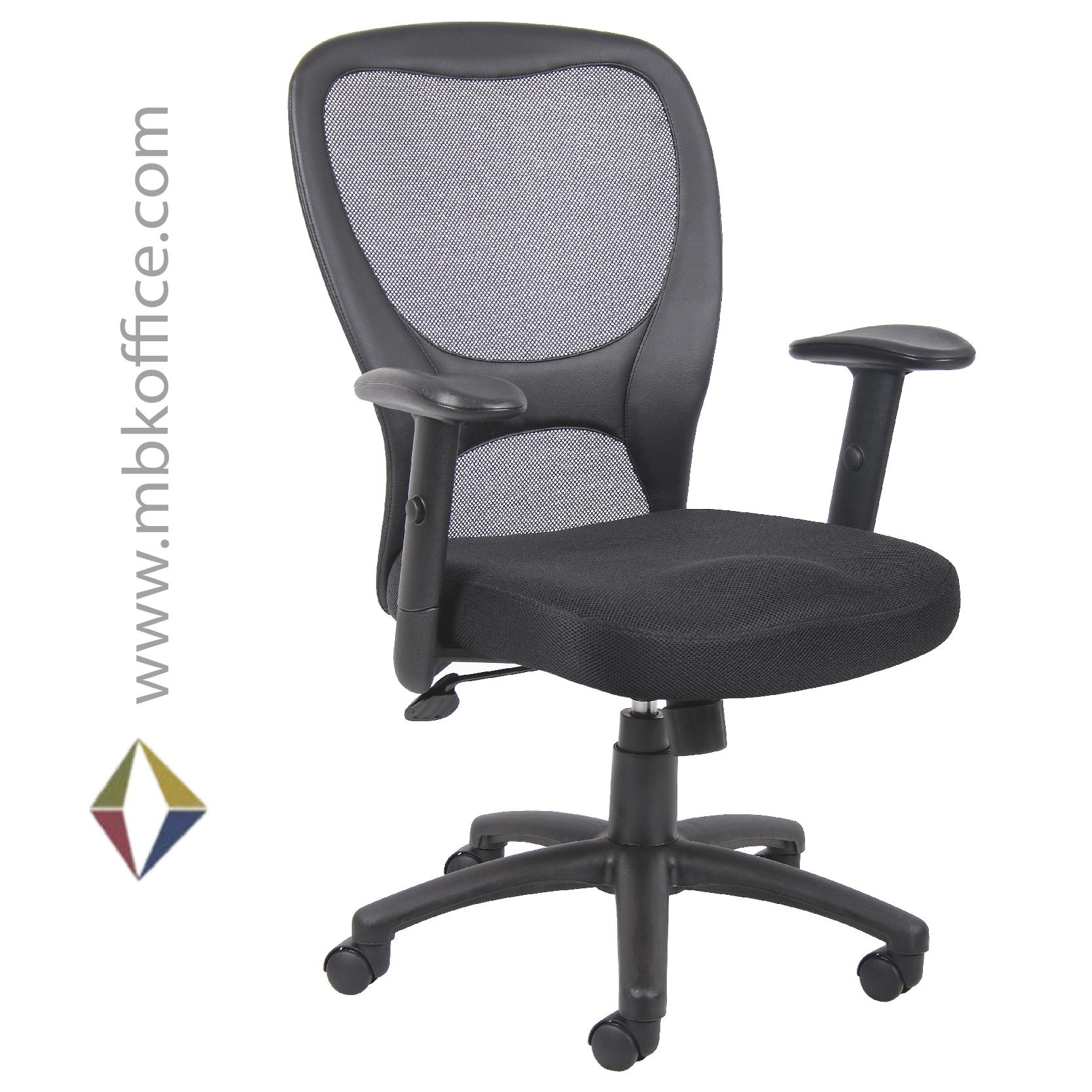 boss task chair b6508 mbk office